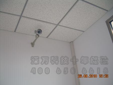 华泰昌百旺尼桑4S店 安防监控工程